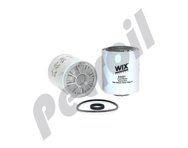 33421 Filtro Wix Combustible Separador Agua BF1282  BF1282O P502516 FS1241 WPS1282 MSR26